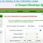 Algérie: Un site internet dédié au passeport biométrique